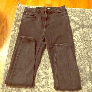 Zara Vintage Wash Gray Skinny Jeans 👖